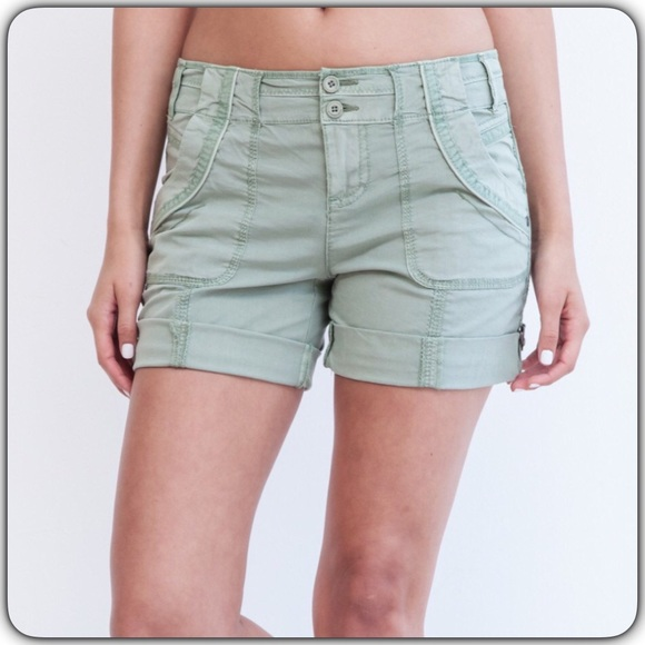 d06e743a3c Anthro Marrakech Roll Tab Shorts